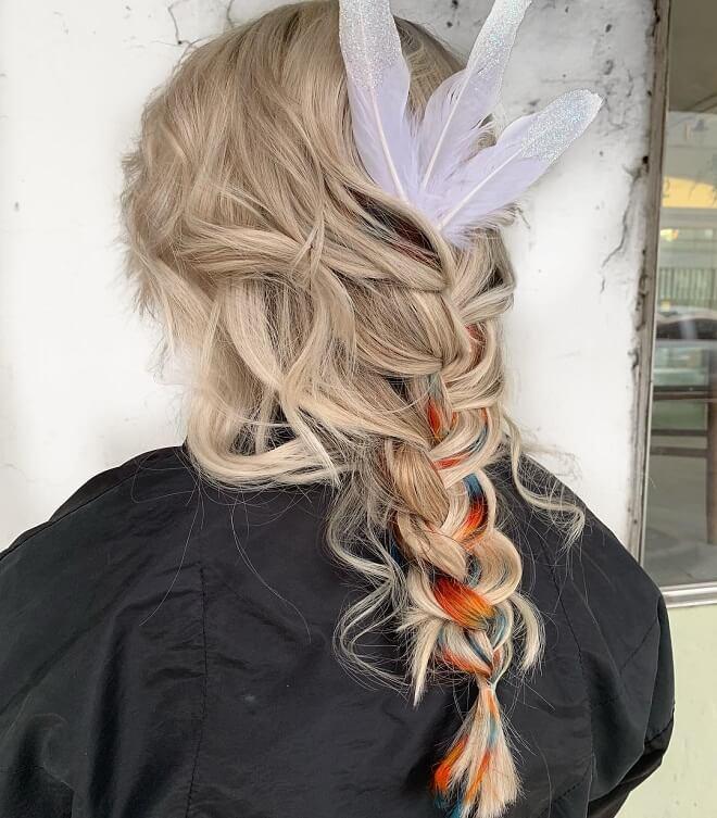 Mermaid With Loose Braid Styles