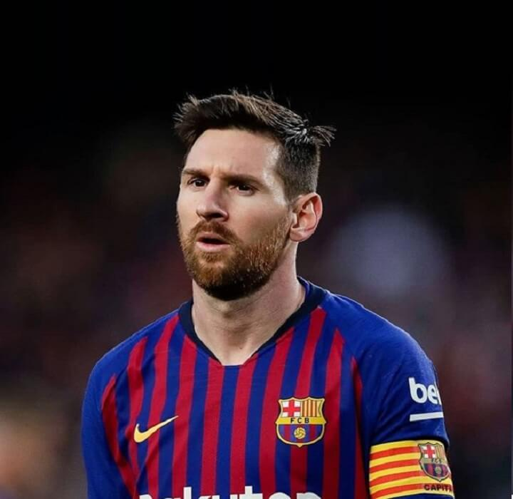 Messi Haircut