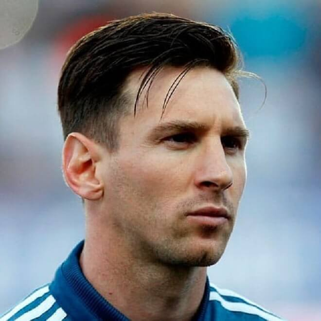 Messi Stylish Hairstyles