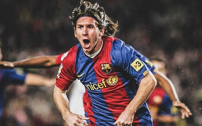 Messi Long Hairstyles