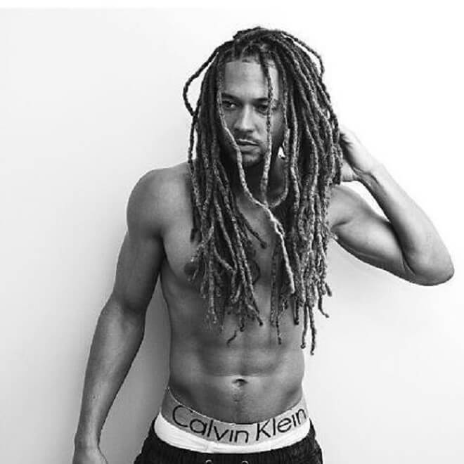 Black men with dreads