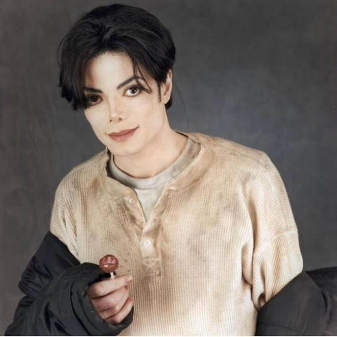 Michael Jackson Medium-Length Hairstyles