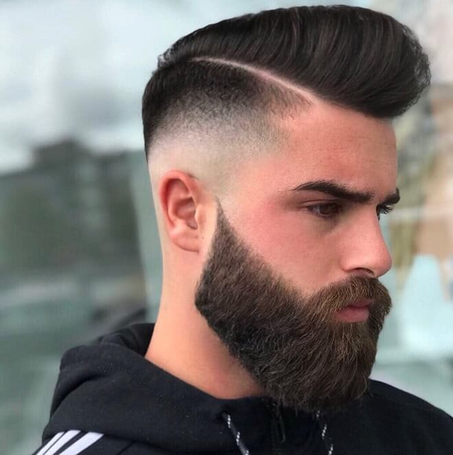 Mid Fade With Hard Part