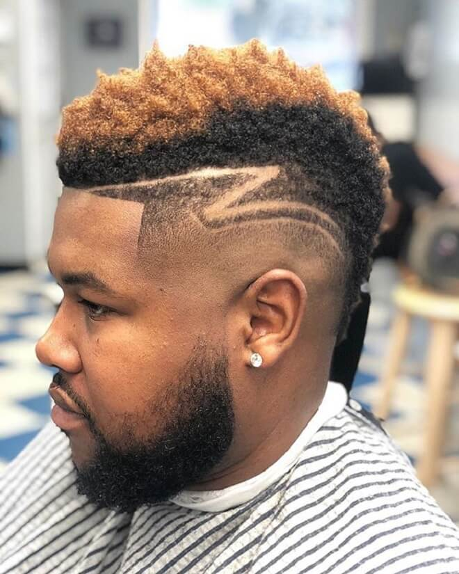 Mohawk Styles With Side Design