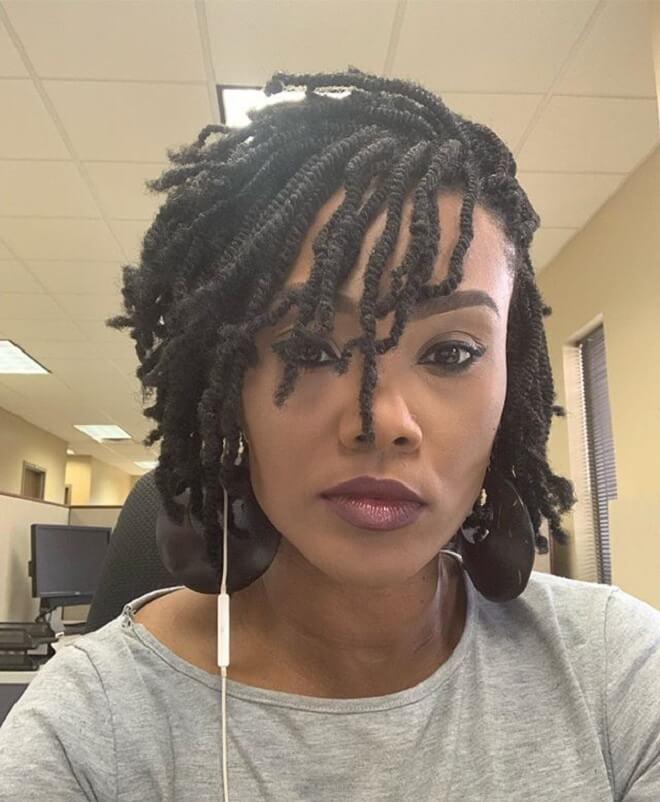 Nubian Short Twist Hairstyles