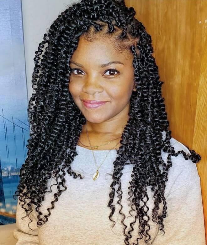 Nubian Twist Hairstyles
