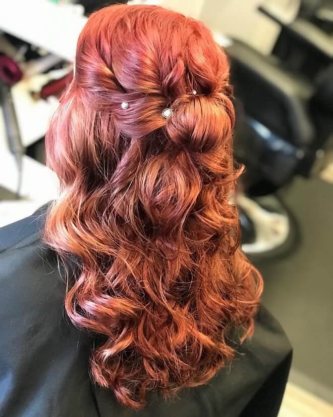 Platinum Ombre With Knot Styles