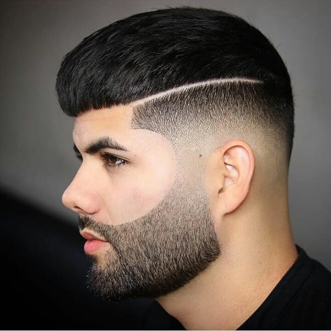 Razor Fade with Cropped Hair