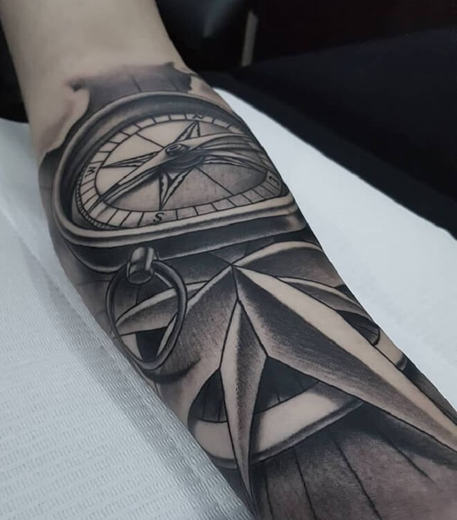 Realistic Tattoo