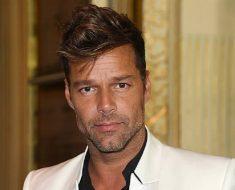 Ricky Martin Haircut