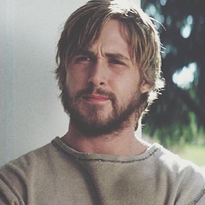 Ryan Gosling Long Hairstyle