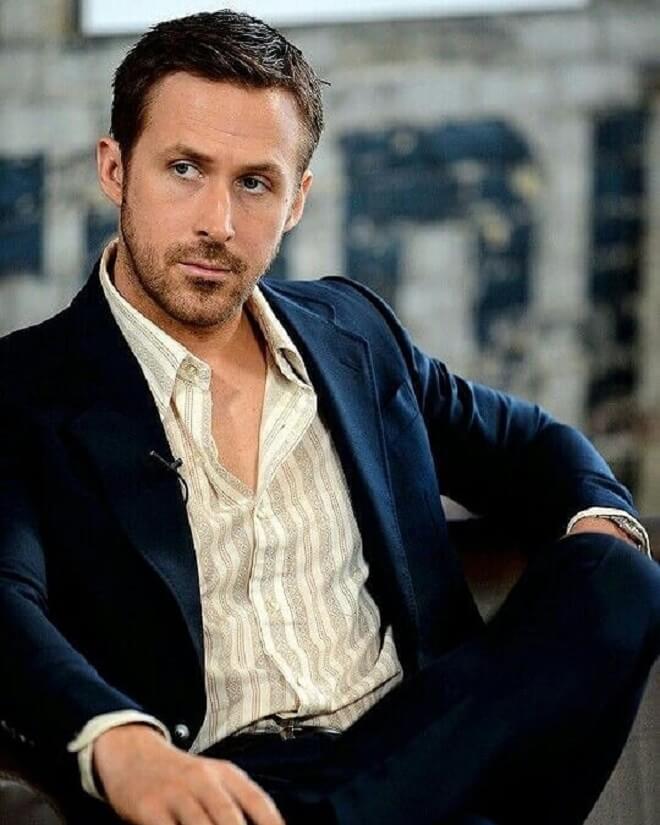 Ryan Gosling Short Hairstyle