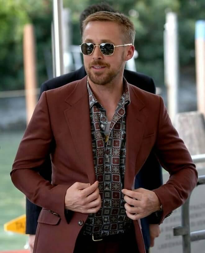 Ryan Gosling Stylish Hairstyle