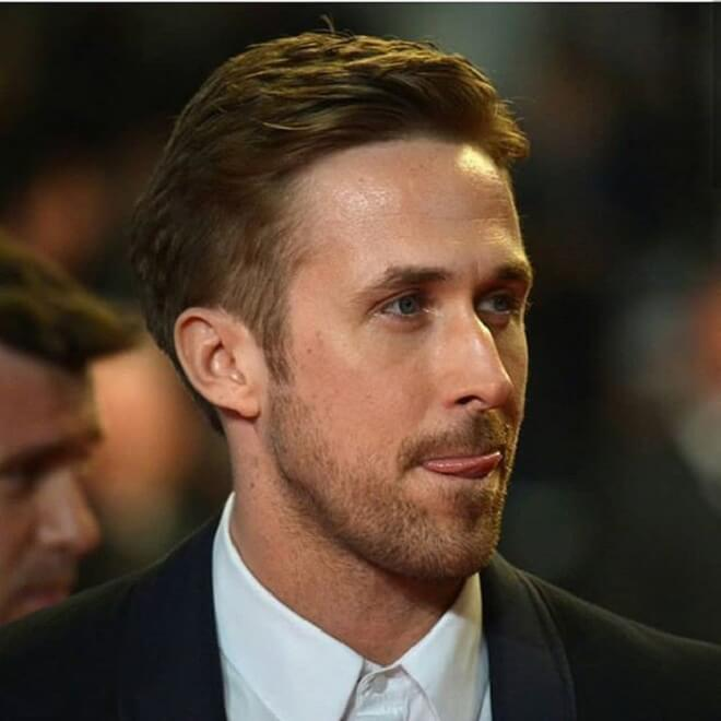 Ryan Gosling Unique Hairstyle