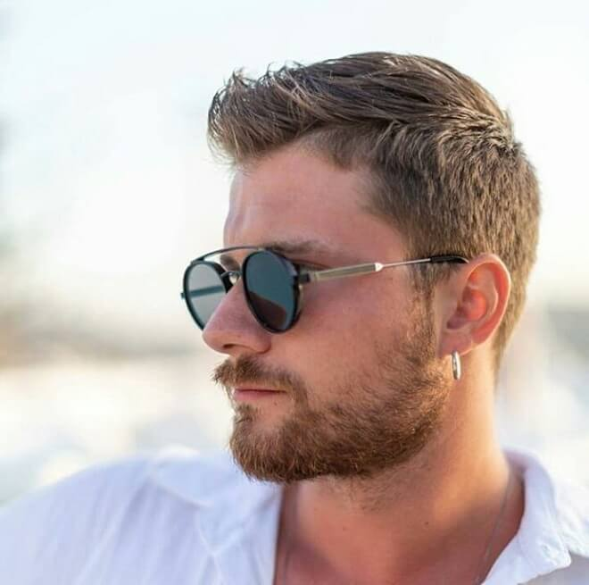 Short And Thick Beard