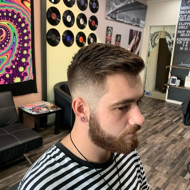 Short Shadow Fade Haircut