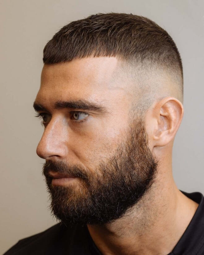 Skin Fade With Short Hair