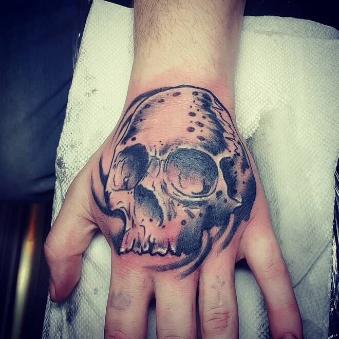 Top 30 Best Hand Tattoo Ideas For Men Cool Hand Tattoos Of