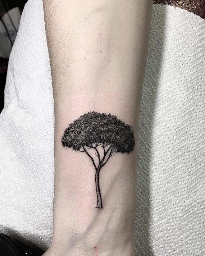 Small Arm Tattoo