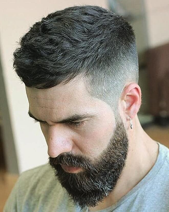 Textured Messy Hairstyle