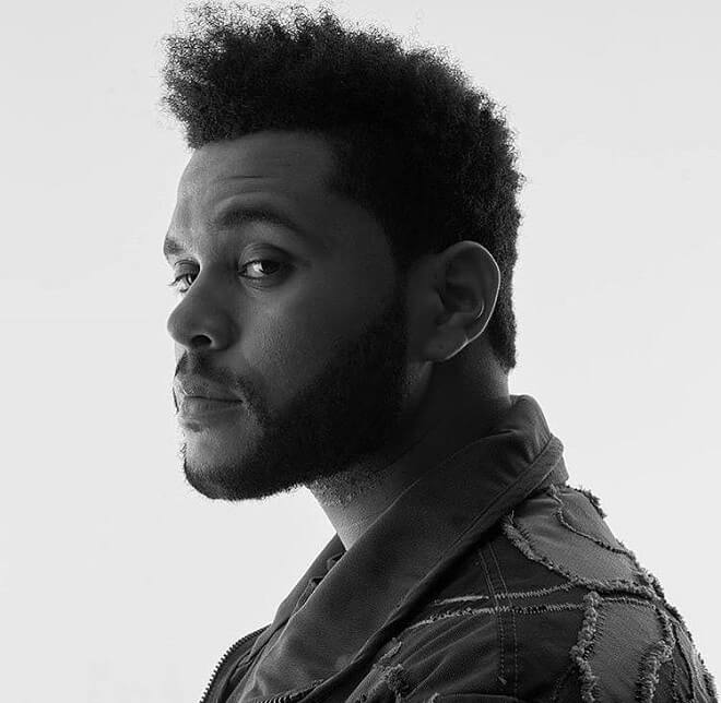 The Weeknd Curly Hairstyles