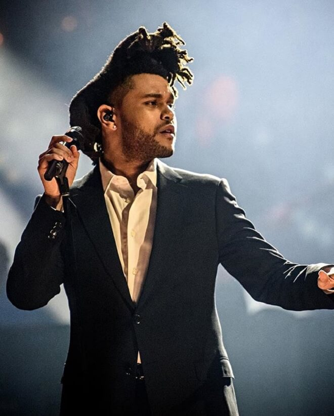 The Weeknd Dreadlocks Fade