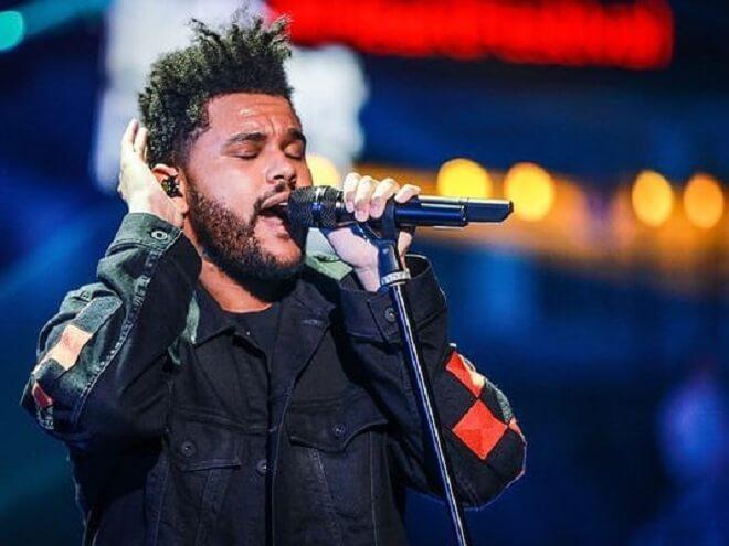 The Weeknd New Haircut