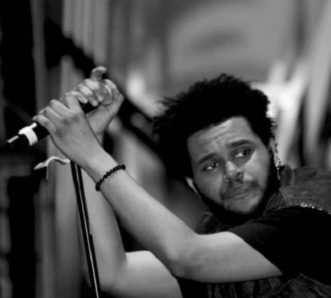 The Weeknd Short Afro Hairstyle