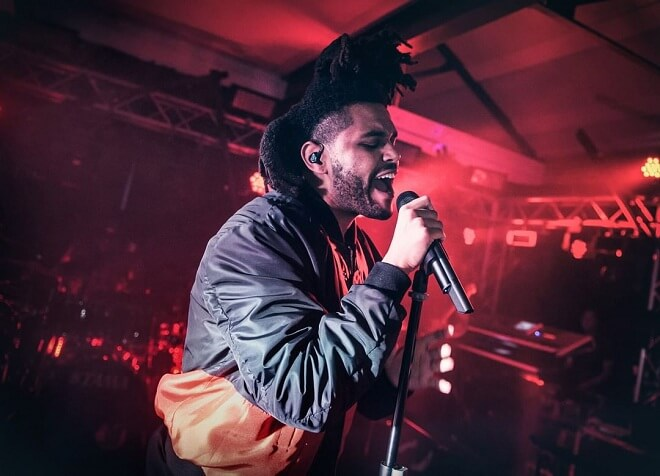 The Weeknd Styles