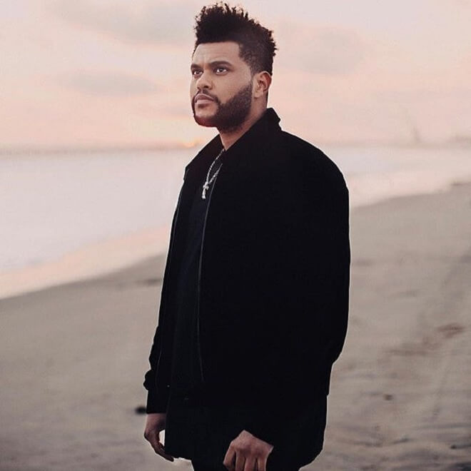 The Weeknd Textured Quiff Hairstyles