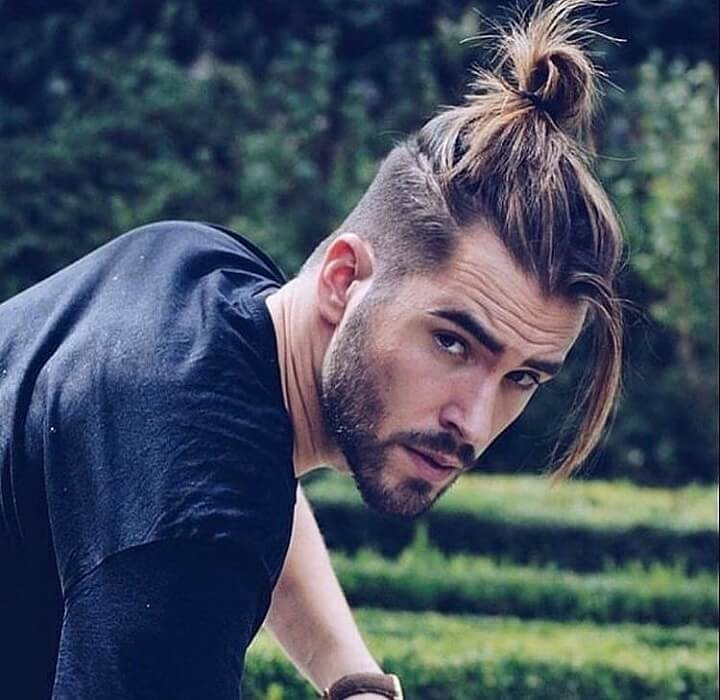 Top 21 Best Top Knot Men Hairstyles | Cool Top Knot ...