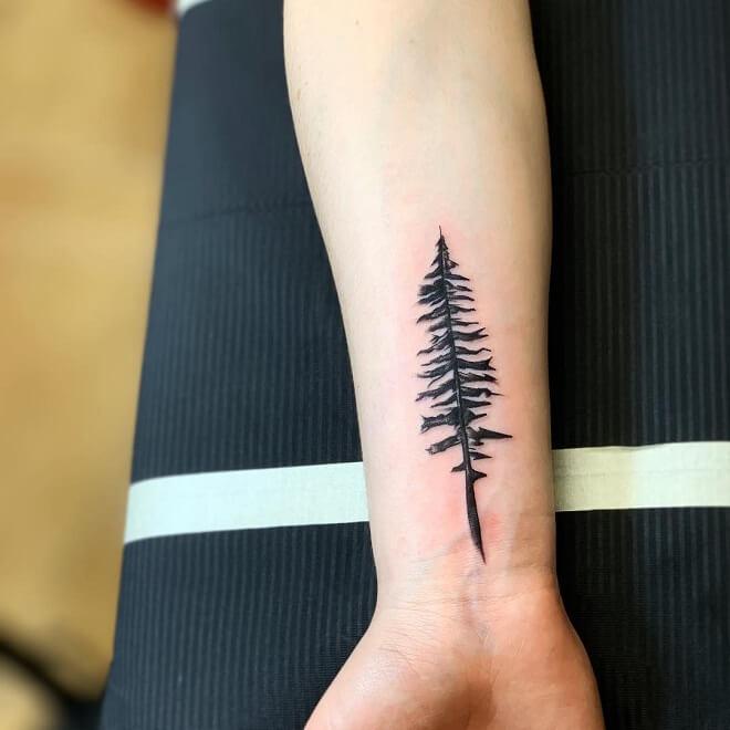 Tree Arm Tattoo