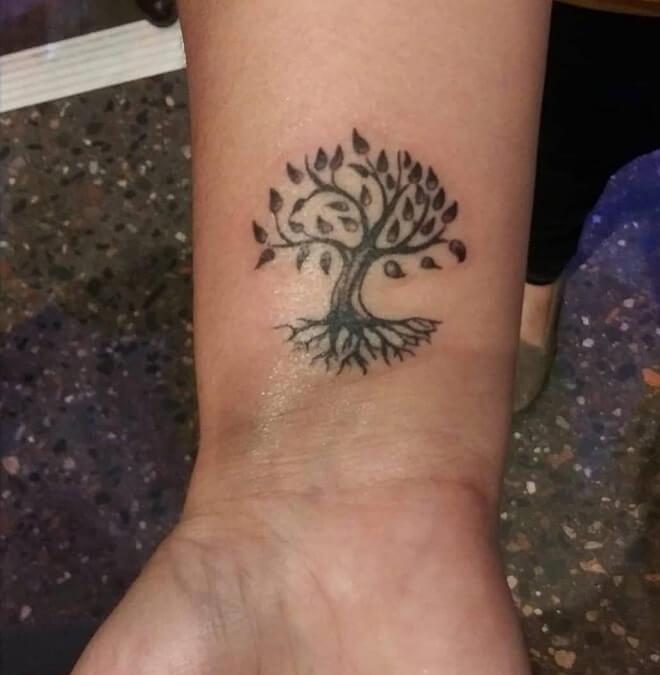 Tree Small Tattoo
