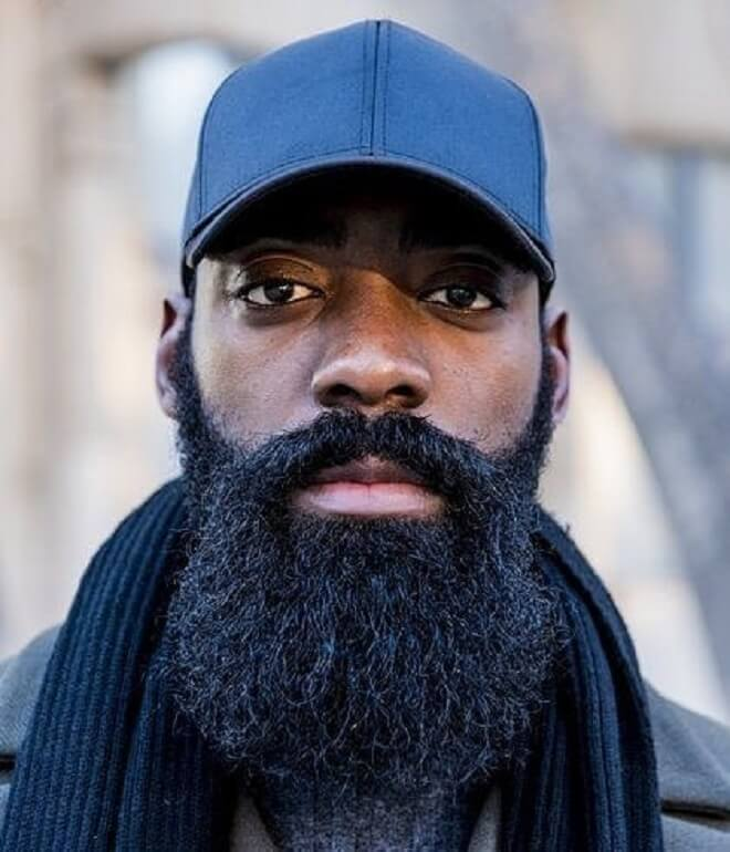 African Beard Style