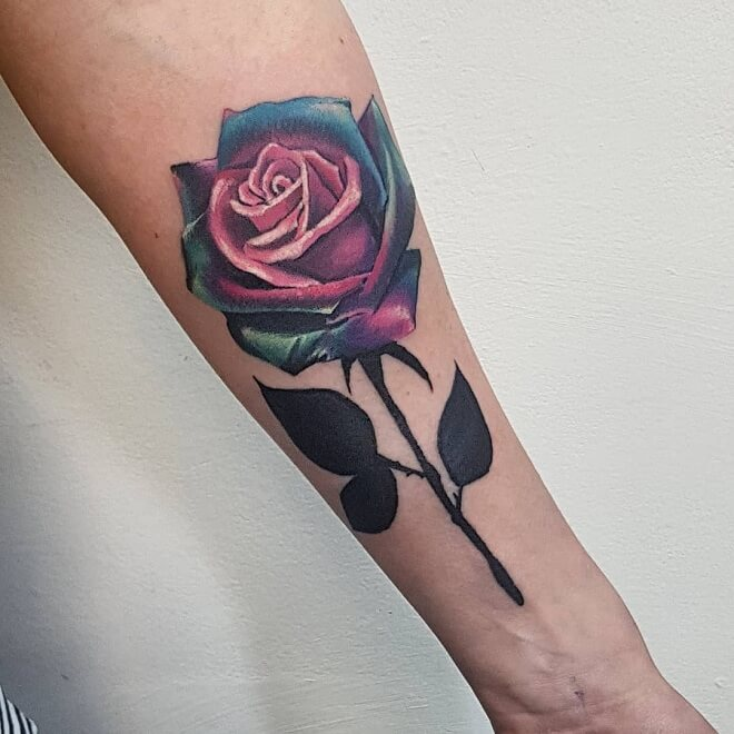 b3e3be592 Top 30 Cool Rose Tattoos For Men and Women | Awesome Rose Tattoos