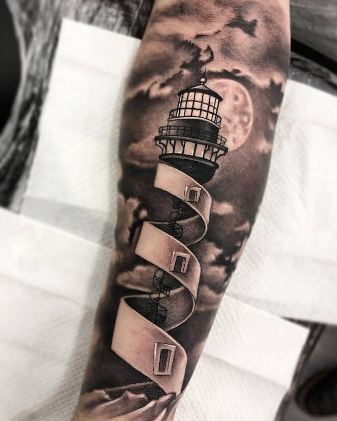 Art Work Tattoo on Hand