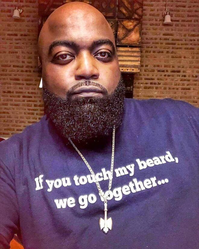Black Men with Beard