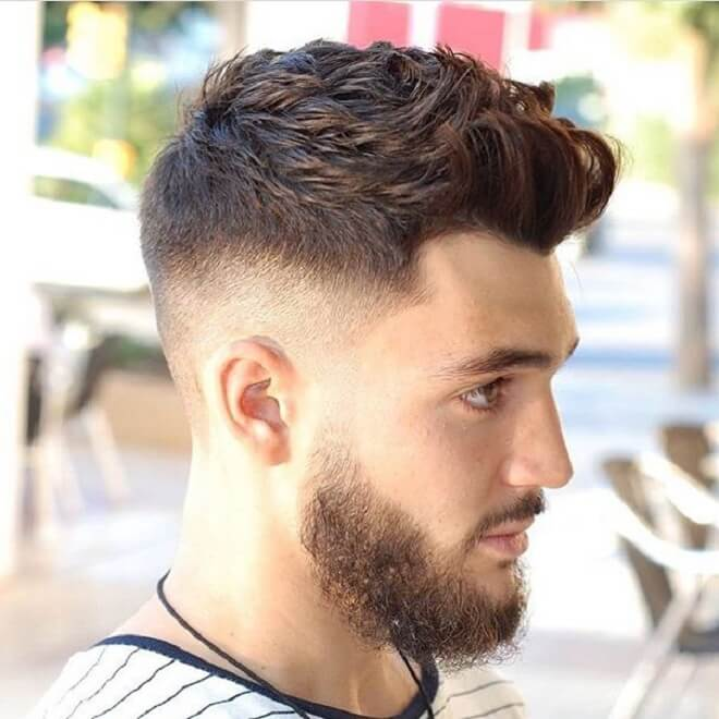 Drop Fade With Brushed Up