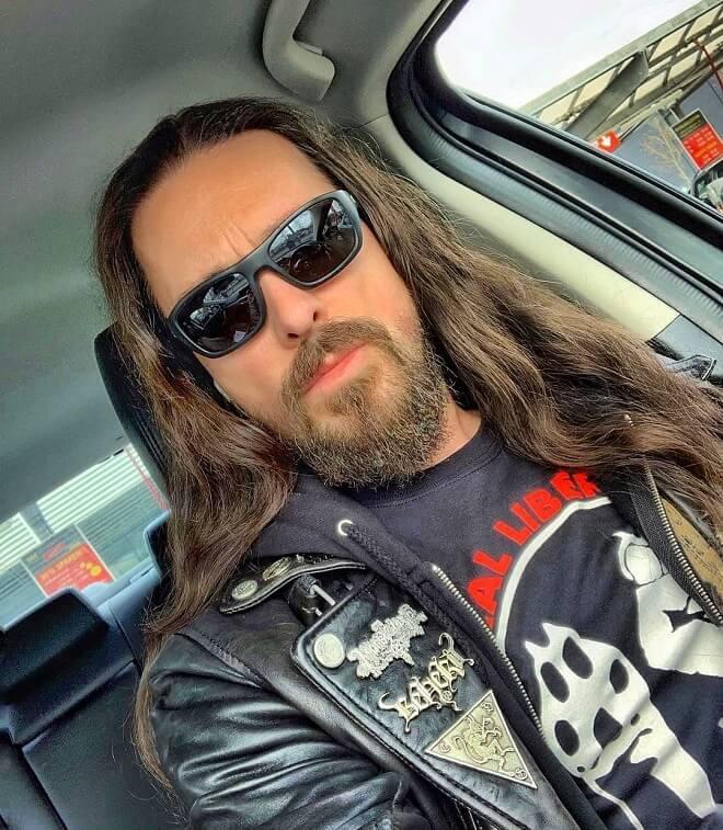Goatee Beard Style with Long Hair