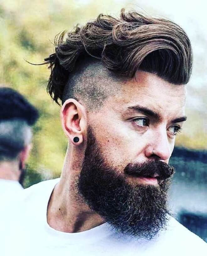 Hard Part With Messy Wavy Top