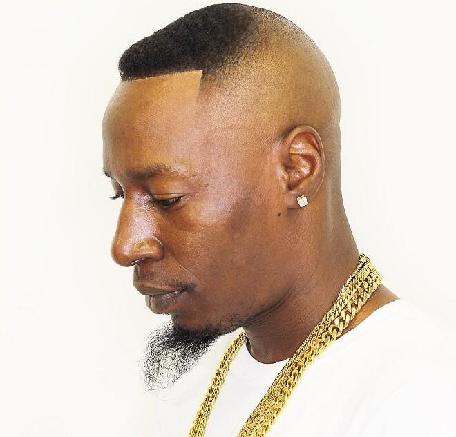 High Bald Fade With Short Hair