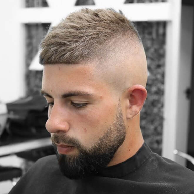 High Skin Fade With Undercut