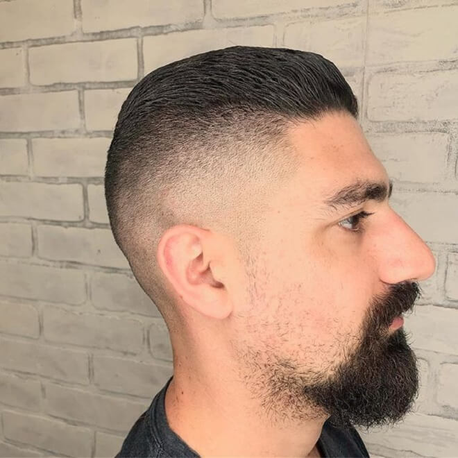 High Skin Fade with Short Haircut