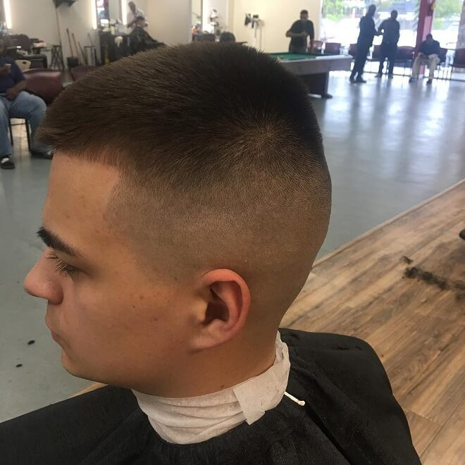 High and Tight Military Cuts