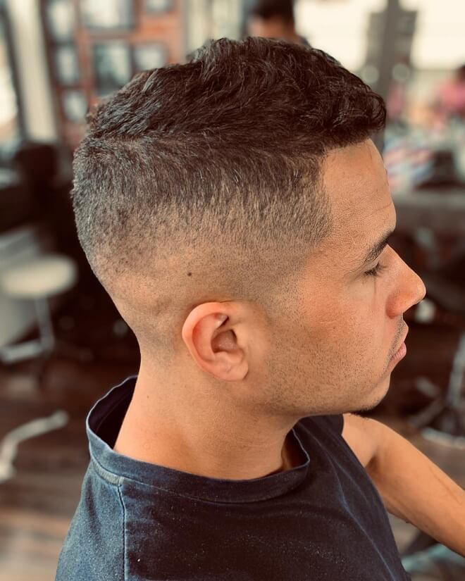 High and Tight Textured Hair