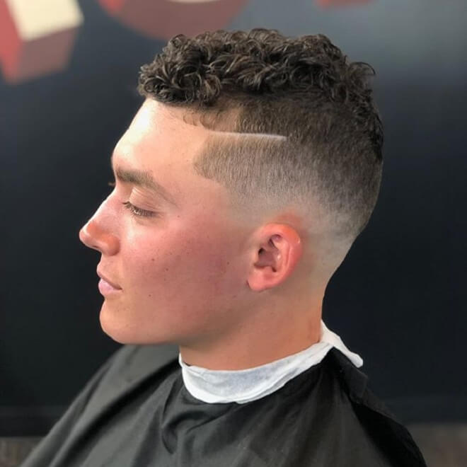 High and Tight with Curly Hair