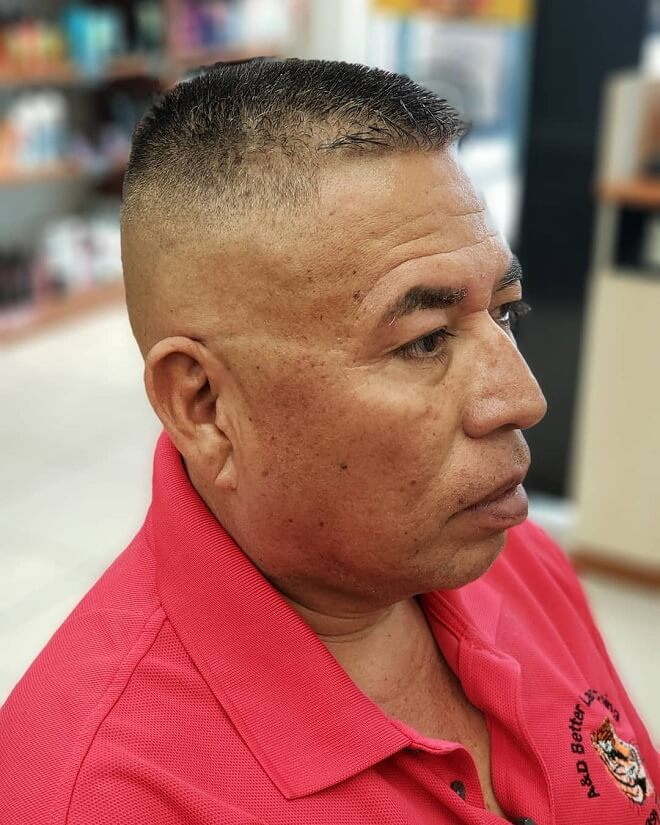 High and Tight with Short Flat Top