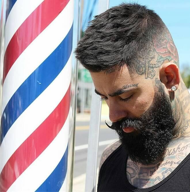 Hipster Haircut and Beard