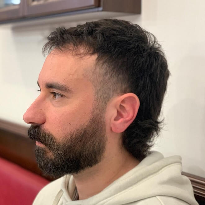 Hipster Mullet Haircut