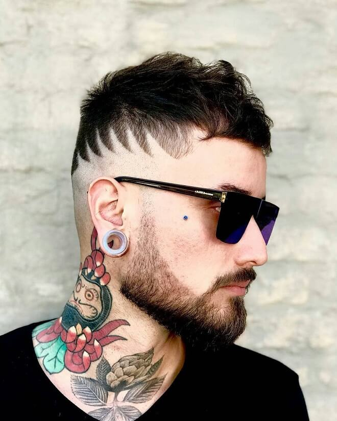 Hipster Professional Haircut